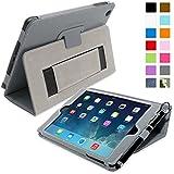 iPad mini & mini Retina Hülle (Grau), SnuggTM - Smart Case mit lebenslanger Garantie + Sleep / Wake Funktion