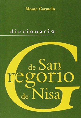 Diccionario de San Gregorio de Nisa (DICCIONARIOS