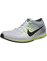 Zapatillas Nike Lunkeepic Low Low Flyknit 2 Blanco / Negro / Puro Platino 8.5 Mujeres EE. UU.
