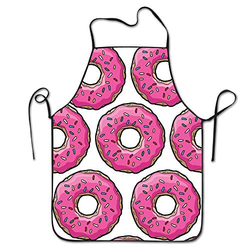 Jhonangel Helen.Koco Pink Simpsons Donut Delantal