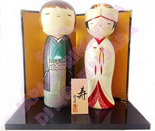 Muñeca Kokeshi, novios para Sempre
