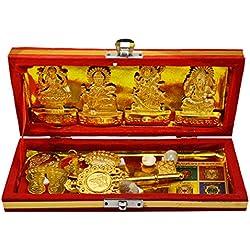 Amazingindiaonline Sri Dhan Laxmi- Kuber Bhandari Yantra- Generate A Source Of Income For You