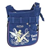 Disney Turnbeutel Tinkerbell Jeans Schultertasche Action Tablet Blau 36794-DI