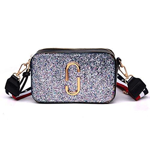 Borsa A Tracolla Da Donna Aisi Mini Glitter Americano Elegante ...