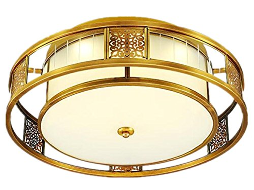 FYN-LED-Copper-Ceiling-Lamp-for-Living-Room-Bedroom-Kitchen-Diameter-55CM-E276-RoundEnergy-Class-A