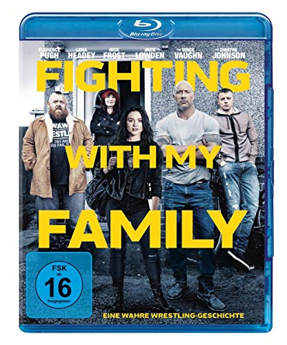 Fighting With My Family [Blu-ray] (Familien-sport-filme)