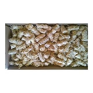 Amafino 5 kg Anzünder Bioanzünder für Kamin, Ofen BBQ und Grill in Wachs getränkte Holzwolle (3,54/kg)