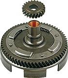RMS Coppia trasmissione ferro vespa 50 denti elicoidali 18-67 Couple clutch gear vespa 50 z 18-67