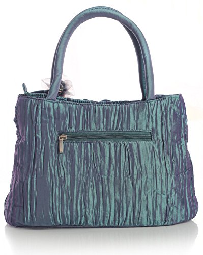 Big Handbag Shop, Borsa a mano donna One (Teal)