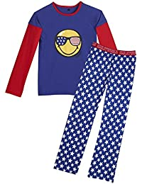 Pomm'poire - Pyjama manches longues Star Night by Smiley - Homme