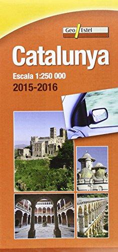 Catalunya 2015-2016: Mapa de carreteres Escala 1:250.000 (Mapes de carreteres.) por Institut Cartogràfic de Catalunya