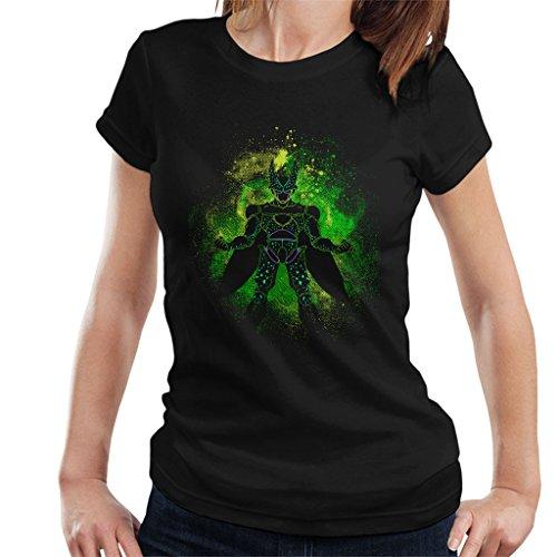 lhouette Women's T-Shirt (Dragon Ball Z Cell Shirt)