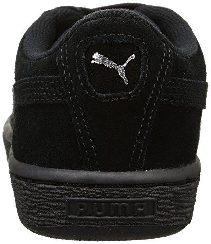 Puma Jungen 355110 Z Sneaker Schwarz (BLK.PUMASILV 52BLK.PUMASILV 52)