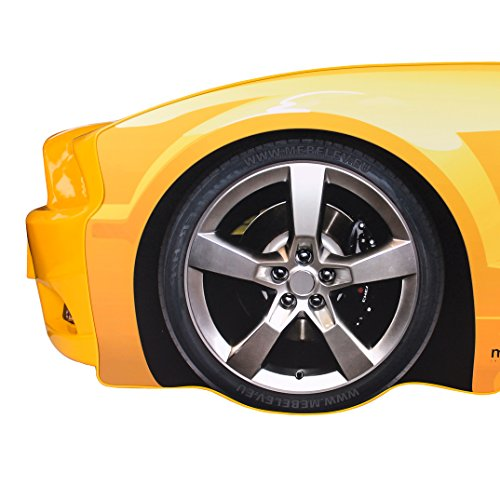 KAGU Autobett Kinderbett Jungendbett Juniorbett im Design eines echten Autos auch mit LED-Beleuchtung erhältlich. Praktisches und bequemes Bett für Ihr Kind. - 6