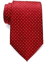 Corbata de microfibra con puntitos para hombres de Retreez