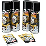 Kit sprays film retirable INPRODIP Argent 4x300ml -aerosol-