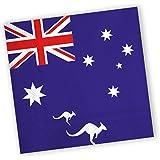 20 Servietten * AUSTRALIEN * für Party und Geburtstag von DH-Konzept // Party Fete Set Napkins Papierservietten