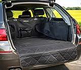 BOMICLAS Kofferraumschutzmatte für Hunde - Universal Auto Kofferraumdecke mit Seiten- und Ladekantenschutz