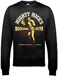 9324 Mighty Mick's Gym Mens Sweatshirt Rocky Balboa Boxing Champion Italian Stallion Silvester Stalone