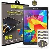 2 x Pack - GBOS Samsung Galaxy Tab 4, 8,0 pouces (SM-T330 / T331 / T335) Protecteur d'écran en verre trempé Véritable Pour Samsung Galaxy Tab 4, 8.0 Avec [HD, 9H Dureté, Crystal Clear, Bubble gratuit]