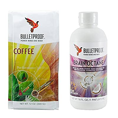 Bulletproof Upgraded Coffee Starter Kit- Brain Octane Edition by BulletProof