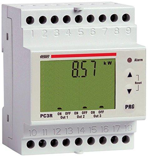 Vemer VE467700 Centralina Controllo Carichi Pc3R con Relè, Bianco