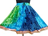 #8: Jaipur Rayon Crepe Mini Skirts for Girls and Women