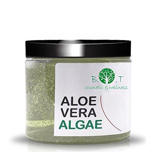 3en1 Gel d'Aloe Vera et Algues Marine Anti Cellulite Hydratant Minceur Reminéralisant Soin Detox (200 ml)