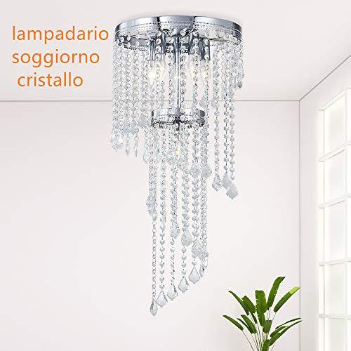 Lampadario cristallo moderno lampadario soggiorno k9 crystal lampadari moderni led plafoniera soffitto lampadario cucina
