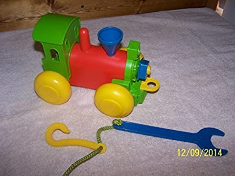TUPPERWARE BUILD-A- TRAIN TOY by TUPPERWARE