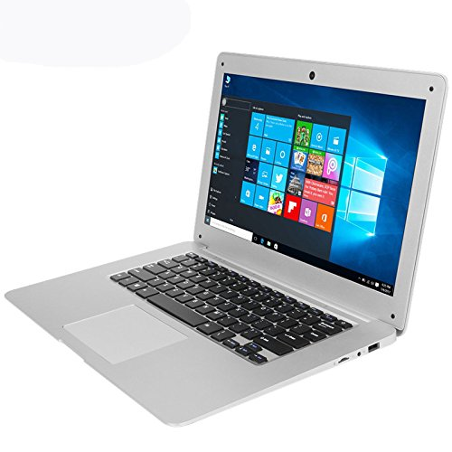 HITSAN INCORPORATION Jumper EZbook 2 Ultrabook 14.1 Inch Intel Cherry Trail Z8350 Windows 10 4GB/64GB Quad Core Laptop One Piece