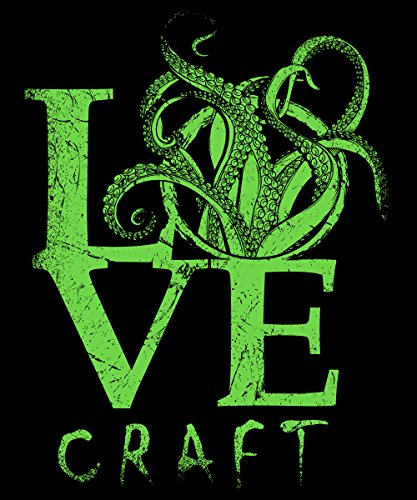 -- Lovecraft -- Boys T-Shirt Schwarz
