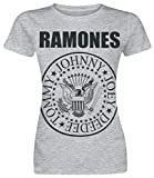 Ramones Seal Camiseta Gris/Melé M