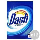 DASH Set 12 Waschmittel Waschpulver 15 Wäschen klassische