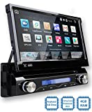Tristan Auron BT1D7018A Autoradio mit Android 8.0, 7'' Touchscreen Bildschirm, mit Navi, GPS Navigation, Bluetooth Freisprecheinrichtung, Octa Core Prozessor, Mirrorlink, USB/SD, OBD 2, DAB+, 1 Din
