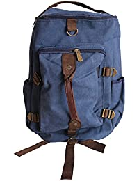 fb641839b5 AllExtreme Canvas Travel Duffle Bag Unisex Casual Backpack for Hiking