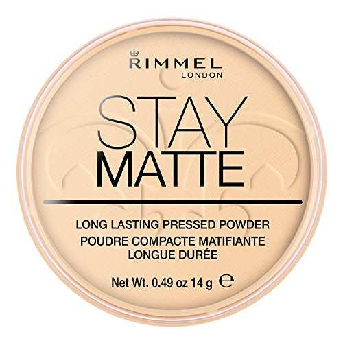 Rimmel London Stay Matte Long Lasting Pressed Powder Transparent
