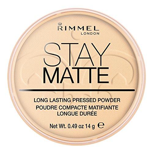 Rimmel Stay Matte Polvos prensados Transparente 001