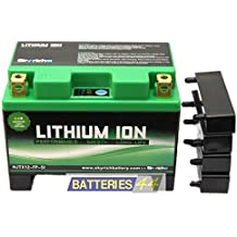 Skyrich - Batería moto Lithium YTX12-BS 12V 12Ah HJX12