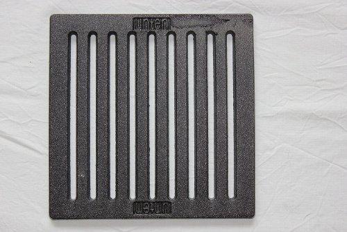 SPARTHERM - Griglia da camino/cenere, 22 x 22 cm