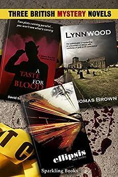 Three British Mystery Novels by [Brown, Thomas, Davies, David Stuart, Dudley, Nikki]