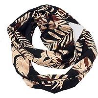 89a452050dc6 NEEKY Femmes Mode Châle en écharpe, Automne Hiver Echarpe en Coton Echarpe  Infinity Convertible Femme