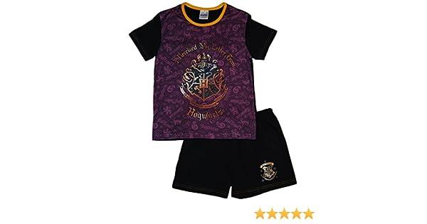 5-6 Anni Pigiama due pezzi Harry Potter Hogwarts ragazza viola//nero//multicolore