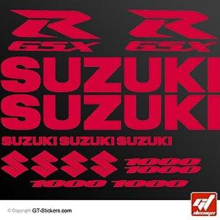 Aufkleber Suzuki GSX 1000–rot–Brett XXL 17GSX R, GSXR, Sticker, selbstklebend, Aufkleber, gt-design