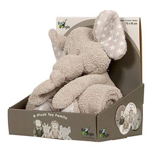 BO Jungle b-plush giocattolo con coperta (zimbe l' elefante)