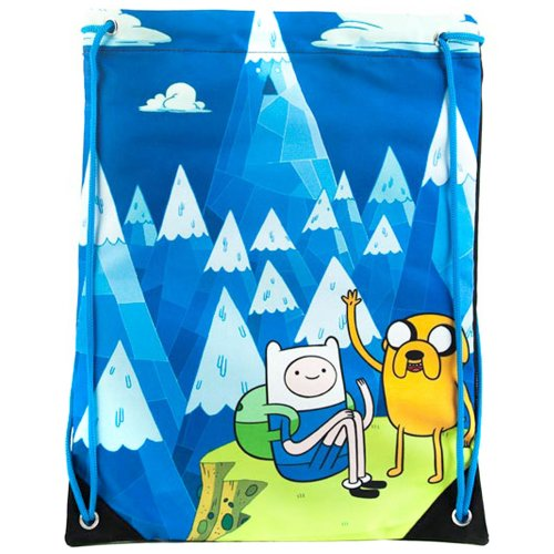 Adventure Time Jake et Finn Mountain Sac de gym