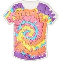 Crocs Tie Dye Shirt Shoe Decoration Charms, Multicolour (-), One Size