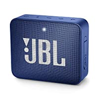 JBL GO 2 Portable Bluetooth Speaker, Blue, JBLGO2BLU