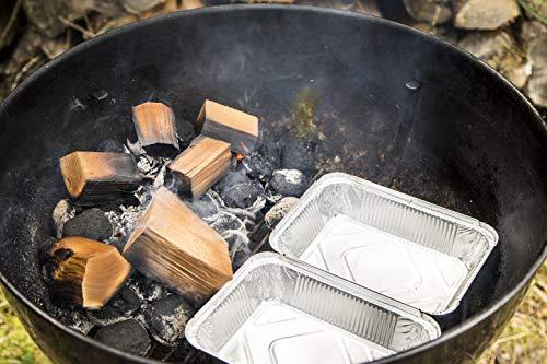 Axtschlag Räucherklötze, Wood Smoking Chunks, Buche - Beech, Holz, 1,5 kg