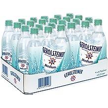 Gerolsteiner Mineralwasser Medium, 24er Pack (24 x 500 ml)